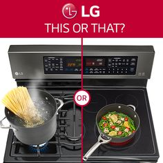 Do you prefer gas or electric? http://www.lg.com/us/kitchen/discovercooking/index.jsp #stove #oven #lifesgood