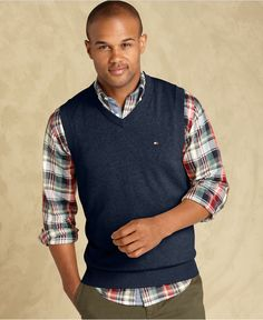 Tommy Hilfiger Sweater, Taft Sweater Vest - Mens Sweaters - Macy's