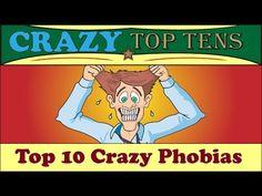 Top 10 Crazy Phobias - YouTube