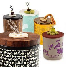 Esteban Paris Decorative Candles - 100% vegetable wax; pure cotton wick. Choice of six fragrances.