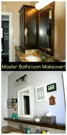 DIY Master Bathroom Makeover! All the details : )