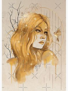 """""""Celestial Auren"""" Photographic Print by kimcarlika   Redbubble Beautiful Artwork, Top Artists, Sell Your Art, Print Design, Celestial, Prints, Poster, Fictional Characters, Fantasy Characters"""