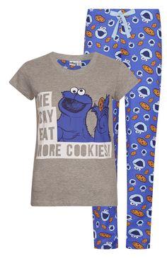 Primark - Cookie Monster PJ Set