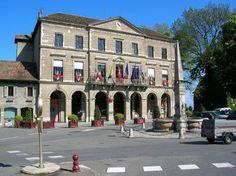 Mairie de Thonon les bains Haute-Savoie