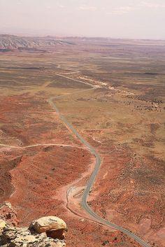 Moki Dugway by Achim Thomae, via Flickr Utah