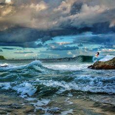 #the4223 #currumbinbeach #thealley #currumbinalley #surf #surfing #waves #rocks #clouds #cloudporn #skyporn #nature #natureporn #visitgoldcoast #goldcoast #queensland #australiagram #australia by lorne.gerlach http://ift.tt/1X9mXhV