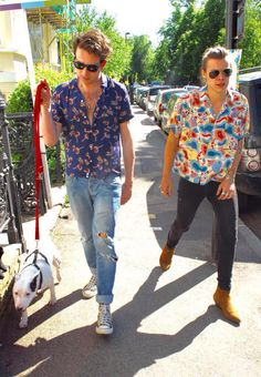 Harry and Nick. I love everything about this.
