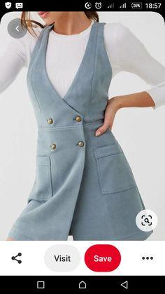 Asymmetrical Dress, Vest, Jackets, Dresses, Fashion, Down Jackets, Vestidos, Moda, Fashion Styles