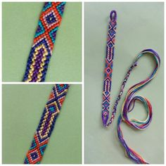 Friendship bracelet design
