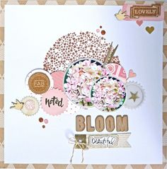 Bloom (Dani Peuss Novemberkit) Crate Paper/Shimelle