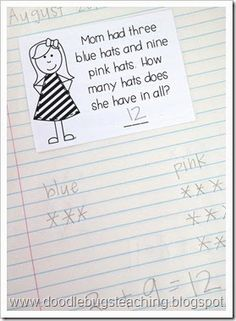 d4af81eb2aeadbf9fd686b67e5c8ae29 teaching first grade st grade math this worksheet is a great way to assess students' understanding of on word problems with integers worksheet