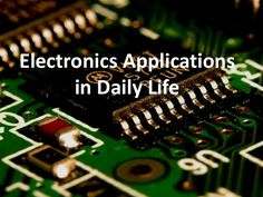 Electronics have revolutionized human life, try to get more of it in daily life - http://ow.ly/GVEVH