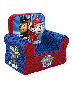 This Paw Patrol Comfy Chair is perfect! #zulilyfinds