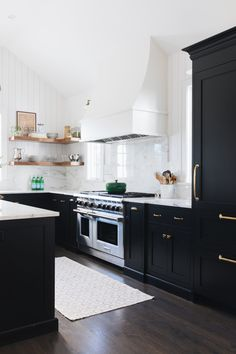 Black & White Kitchen Renovation Inspiration | Miranda Schroeder  www.mirandaschroeder.com
