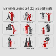 Manual de usuario de fotografías del turista