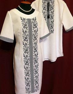 """Парные вышиванки """"Сокальские цветы"""" Diy Wedding Dress, Diy Dress, Embroidery Fashion, Embroidery Dress, Kurta Designs, Blouse Designs, Modern Filipiniana Dress, Estilo Popular, Iranian Women Fashion"""