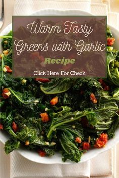 My farm box had too many greens, so I had to use them up. This tasty idea uses kale, tomatoes and garlic in a dish that quickly disappears. #garlic #garlicrecipe #tastyrecipe #greenrecipe #warmrecipe #warmtastyrecipe #warmtastygreenrecipe #greengarkicrecipe #eathealthy #healthyfoodrecipe #foodrecipe #healthyrecipe Real Food Recipes, Healthy Recipes, Tasty, Yummy Food, Garlic Recipes, Warm Food, Greens Recipe, Eat Healthy, Kale