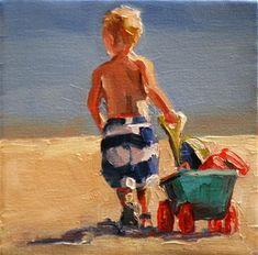 """heading home"" - Original Fine Art for Sale - © carol carmichael"