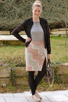DIY Skirt Burda 4/2016, Modell 113B