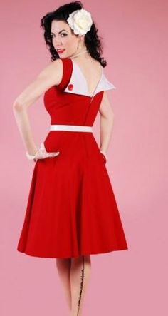 Always wanted this dress from Betty Paige Clothing.  So cute!