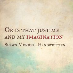 Shawn Mendes - Imagination #ShawnMendes