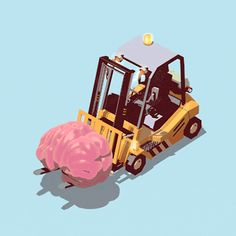 Forget your mind - Personal work - Cinema 4D - fabb - 2014