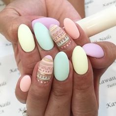 If my nails were round and not square.
