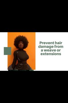 How To Prevent Hair Damage From A Weave Or Extensions| Care Of Hair Type | 4c Hair Care| Weave Hair Type 4c Hairstyles, Black Hairstyles With Weave, Curly Weave Hairstyles, Stop Hair Loss, Prevent Hair Loss, Curly Hair Ponytail, Damaged Hair, Hair Type, Hair Extensions