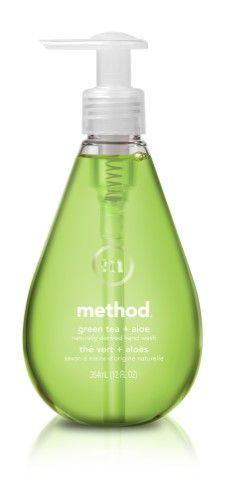 Method Gel Hand Soap Refill, Green Tea & Aloe, 12 Fl Oz