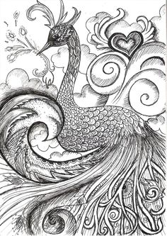 Peacock by ~vivsters on deviantART