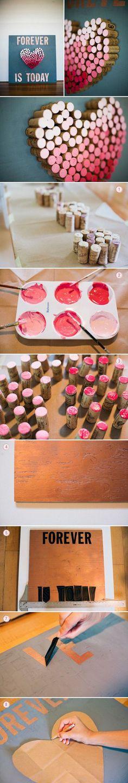 Fai da te Tappo del vino del cuore fai da te Progetti   UsefulDIY.com