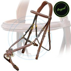 Royal Fancy Square Raised Mexican Adjustable Bridle with Padded Jaw, Broad Cut Head Piece & Reins. Regular price $108 Sale price $88 (Conker/Brass Buckle)