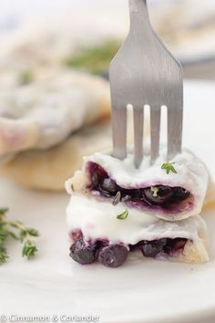 Try my easy recipe for the best homemade sweet Polish blueberry pierogi filled with frozen blueberries and fresh thyme leaves! These authentic Polish sweet dumplings can be prepared ahead of time and frozen. Almond Joy, Blueberry Dumplings, Polish Dumplings, Sweet Dumplings, Dumpling Recipe, Polish Recipes, Family Meals, Family Recipes, World Recipes