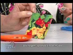 2a aula de jardinagem na TV Gazeta por Nô Figueiredo