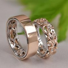 Wedding Rings Sets His And Hers, His And Hers Rings, Matching Wedding Rings, Wedding Matches, Matching Rings, Matching Couples, Wedding Bands For Him, Hers And Hers, Matching Promise Rings