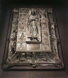 bronze monument tomb of Pope Sixtus IV   Catacombs  Saint Peter's Basilica  Vatican