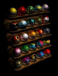 Choose your Pokeball.