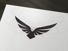 Web Design Tips : Photo Web Design, Icon Design, Beste Logos, Eagle Design, Bird Logos, Wings Logo, Eagle Logo, Poster Design, Desenho Tattoo
