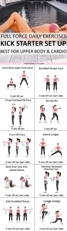 Repin if this destroyed your bingo wings! Click the pin for full workout. | Posted By: NewHowToLoseBellyFat.com