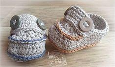 Cute Crocheted Baby Moccasins [FREE Crochet Pattern + Video Tutorial]