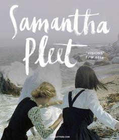Style Monday: Samantha Pleet F/W 2014 — June Letters Studio