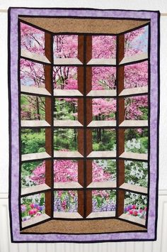 Bay Attic Window with Spring view