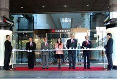 Tokyo Marriott ribbon cutting