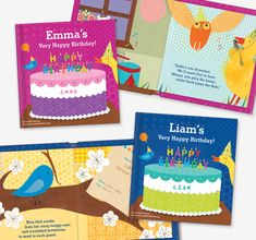 Adorable animals prepare a special birthday party and cake for your child in this personalized book with durable board pages. Very Happy Birthday, Baby First Birthday, Special Birthday, Birthday Presents, Birthday Parties, Books For Boys, My Books, Christmas Shopping Online, Personalized Books For Kids