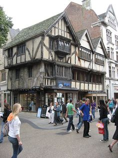 Ship Street, Oxford, England by duncan, via Flickr