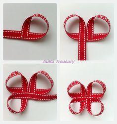 AuRa Treasury: Hair Bow How To
