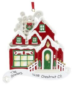 Christmas Cottage...somebody bought their first house. October 2012