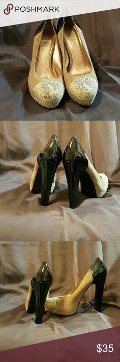 Selling this BCBG  PARIS  HEELS size 8 in my Poshmark closet! My username is: juanliz. #shopmycloset #poshmark #fashion #shopping #style #forsale #BCBG PARIS  #Shoes