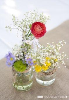 Flores para una boda en el campo con aires vintage de Bodas Deluxe | Foto 33