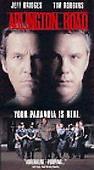 Arlington Road VHS  Movie Rated R Drama 1999 VHS